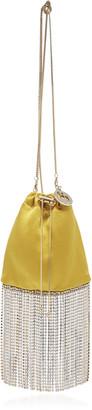 Rosantica Fatalina Crystal Fringe Crossbody Bag