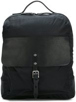 Ally Capellino 'Ian' zip around rucksack - men - Leather/Nylon - One Size