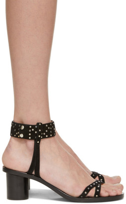 Isabel Marant Black Suede Joakee Sandals
