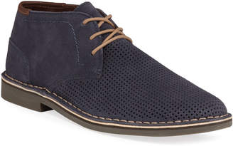 Kenneth Cole Reaction Men's Desert Hill Perforated Suede Chukka Boots