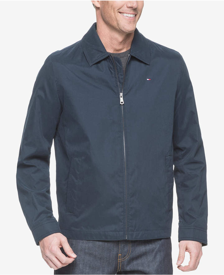 95aa952e8 Men Big & Tall Classic Full-Zip Micro-Twill Jacket