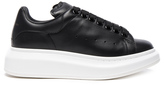 Alexander McQueen Leather Platform Sneakers
