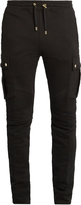 Balmain Cargo slim-leg cotton track pants