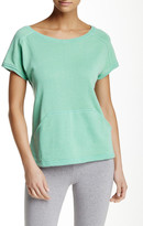 Natori Lounge Short Sleeve Sweatshirt