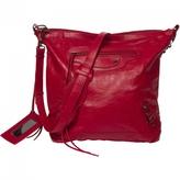 Balenciaga Red Leather Handbag Day