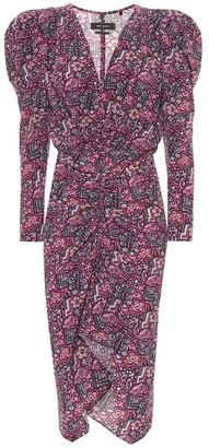 Isabel Marant Exclusive to Mytheresa a Raven stretch-silk dress
