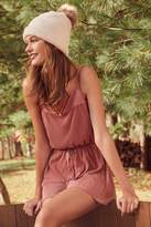 Urban Outfitters Bette Pleated Fit + Flare Romper