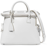 Maison Margiela 5ac Baby Leather Tote - White