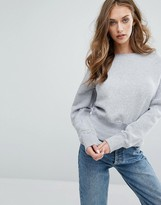 Missguided Round Neck Sweatshirt