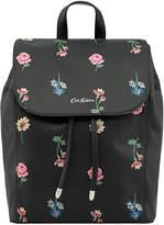 Cath Kidston Lulworth Flowers The Saxham Leather Backpack