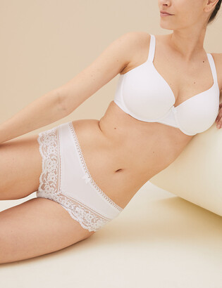 Marks and Spencer Lace Trim Brazilian Knickers