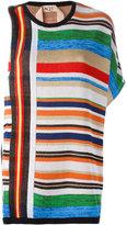 No.21 asymmetric knit jumper - women - Cotton/Polyamide/Acetate - 40