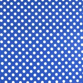 SheetWorld Fitted Pack N Play Sheet - Polka Dots Royal Blue - Made In USA - 29.5 inches x 42 inches (74.9 cm x 106.7 cm)