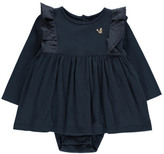 Emile et Ida Squirrel Ruffled Body Dress