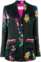 Etro floral print light jacket - women - Viscose/Silk - 40