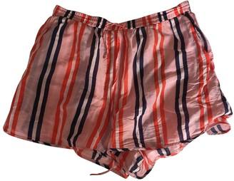 Diane von Furstenberg Pink Cotton Shorts