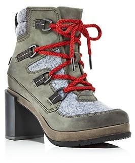 Sorel Women's Blake Waterproof Block-Heel Booties