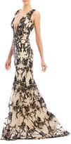 Nicole Miller Fancy Flowers Gown