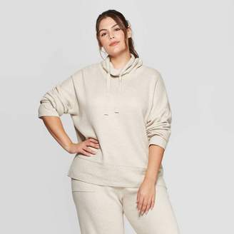 Universal Thread Women's Plus Size Long Sleeve Mock Turtleneck Sweater - Universal ThreadTM