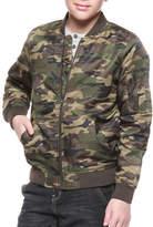 Dex Camo Bomber Jacket