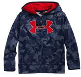Under Armour Utility Camo Logo Zip Hoodie