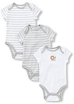 Little Me Baby Boys Newborn-9 Months Little Lion 3-Pack Bodysuits