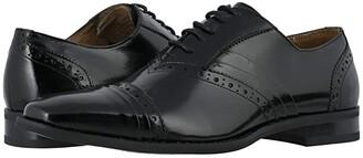 Stacy Adams Talford Cap Toe Oxford (Black) Men's Shoes