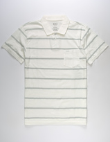RVCA Lines Mens Polo Shirt