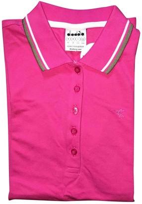 Diadora Pink Cotton Top for Women
