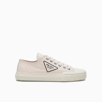 Prada Cotton Canvas Sneakers