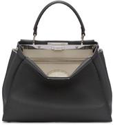 Fendi Grey Regular Selleria Peekaboo Bag