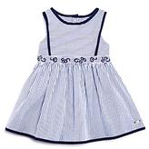 Tartine et Chocolat Girls' Embroidered Striped Dress - Baby