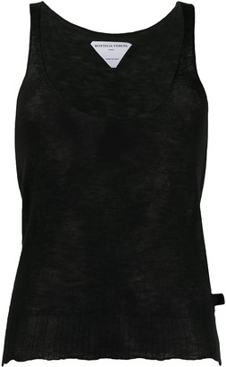 Bottega Veneta Sleeveless Cashmere Tank Top