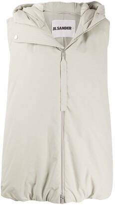 Jil Sander Oversized Sleeveless Padded Jacket