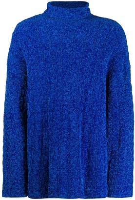 Balenciaga oversized high neck jumper