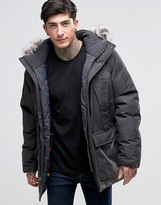 The North Face Mountain Murdo Down Parka In Grey
