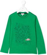 Paul Smith long sleeve printed T-shirt - kids - Cotton - 2 yrs