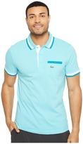 Lacoste Golf Semi-Fancy Super Light w/ Pocket Polo Men's Short Sleeve Pullover