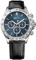 HUGO BOSS Men's 1513176 Leather Quartz Watch