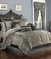 J Queen New York Bridgeport Medallion Tile Faux-Silk Comforter Set