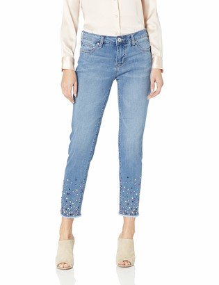 Jag Jeans Women's Carter Girlfriend Jean with Gems