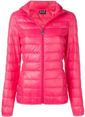 EA7 Emporio Armani Hooded Puffer Jacket