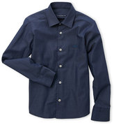 Manuell & Frank Boys 8-20) Denim Blue Embroidered Shirt