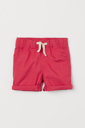 H&M Cotton Shorts - Red
