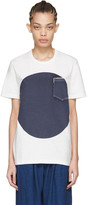 Blue Blue Japan White Flag T-shirt