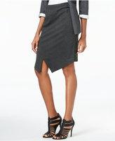 Kensie Envelope-Hem Ponte Skirt