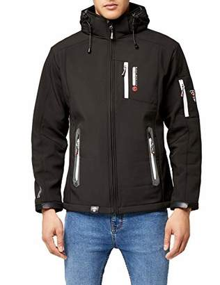 Geographical Norway TEVET Men Color Jacket, (RED)