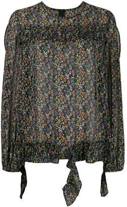 Jovonna London Goyetta floral print blouse