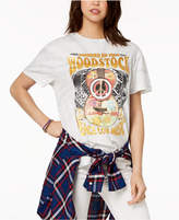 Mighty Fine Juniors' Cotton Woodstock Graphic Boyfriend T-Shirt