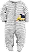 Carter's Baby Boy Dump Truck Sleep & Play
